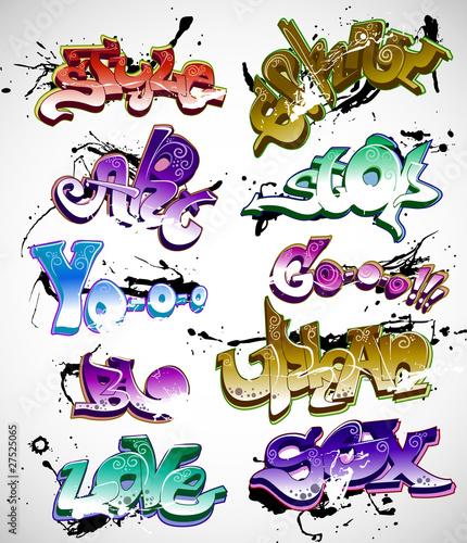 kolekcja-tlo-wektor-graffiti