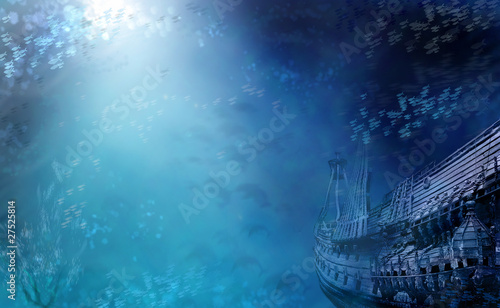 Photo Stands Shipwreck Aquatic Shipwreck