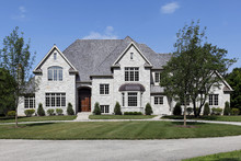 Large White And Gray Home