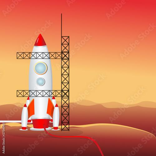 Poster Corail rocket launcher