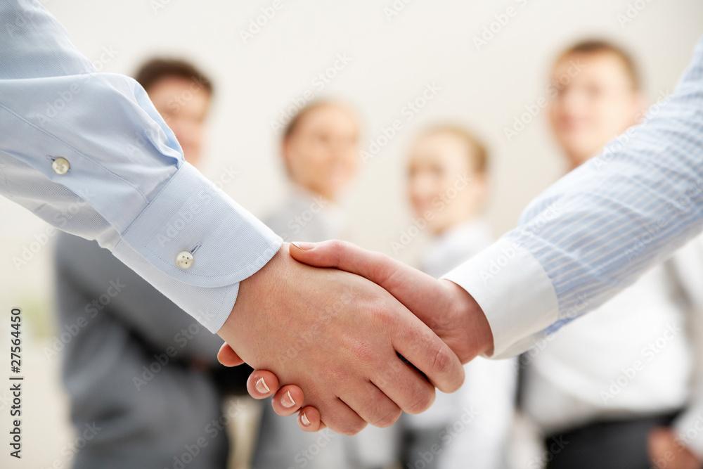 Fototapeta Symbol of partnership