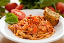 Spicy Shrimp Pasta 1
