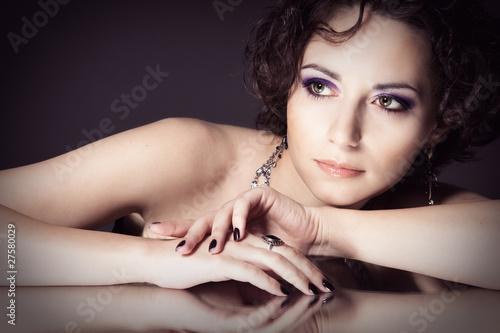 Valokuva  Beautiful young woman