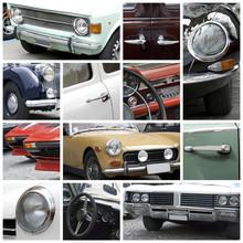Auto D'epoca - Collage