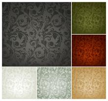Seamless Wallpaper Pattern, Se...