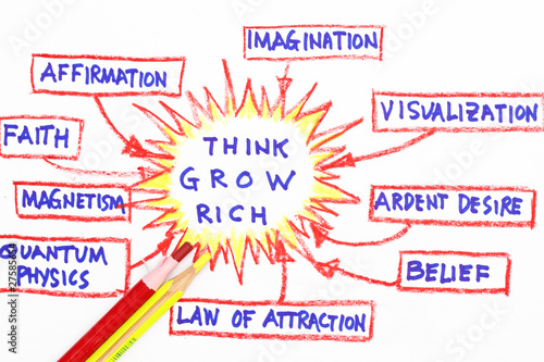 Foto  Think and grow rich concept