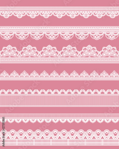 Fotomural  straight lace set