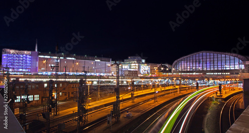 Foto auf AluDibond Bahnhof Hamburger Hauptbahnhof