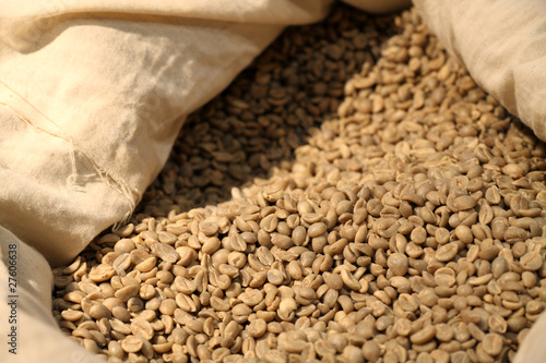 Wall Murals Coffee beans sac de café