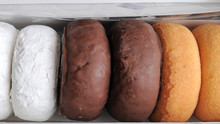 Assortment Of Boxed Donuts