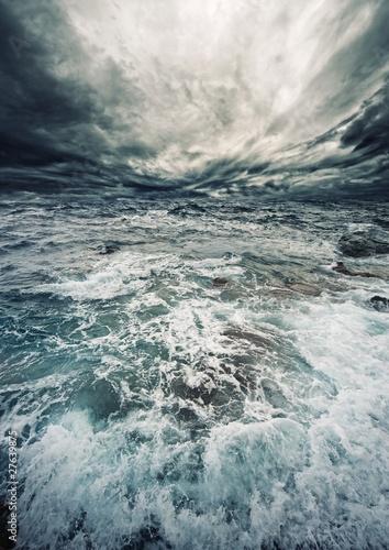 Poster Zee / Oceaan Ocean storm