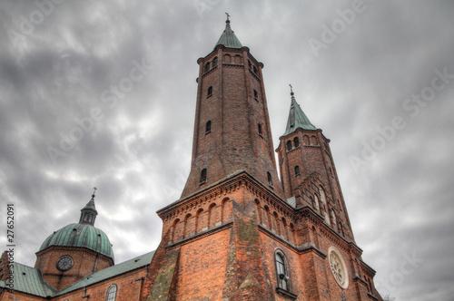 Poland - Plock cathedral Fototapet