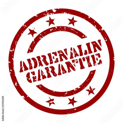 Fotografie, Obraz  stempel adrenalin garantie I