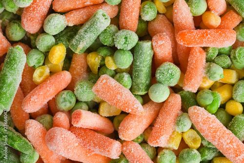 Obraz frozen vegetable - fototapety do salonu