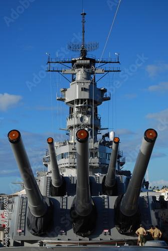 Photo  Battleship USS Missouri