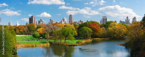 Fotografia, Obraz New York City Manhattan Central Park panorama
