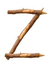Pencil Wood, Letter Z