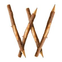 Pencil Wood, Letter W