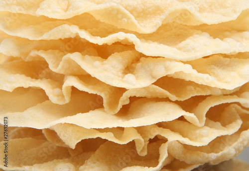 Deurstickers Voorgerecht Indian Poppadoms
