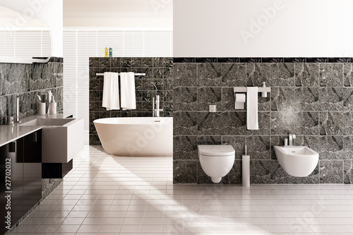 Fotografie, Obraz  Contemporary Designed Bath