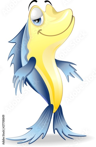 Pesce Cartoon-Cartoon Fish-2-Vector