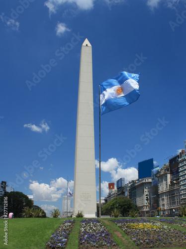 Keuken foto achterwand Buenos Aires Obelisk in Buenos Aires, Argentinien
