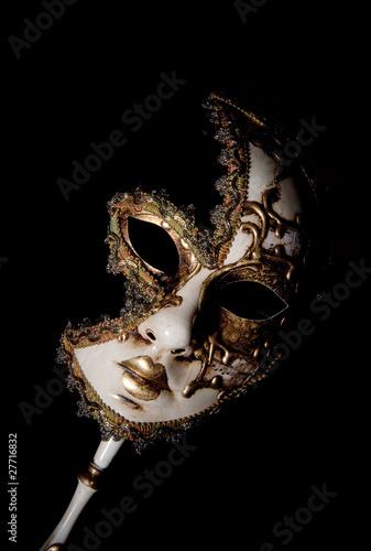 Photo  venetian mask
