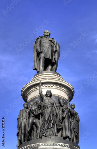 Photo  The O'Connell Monument 1882 - Dublin, Ireland (Irland)