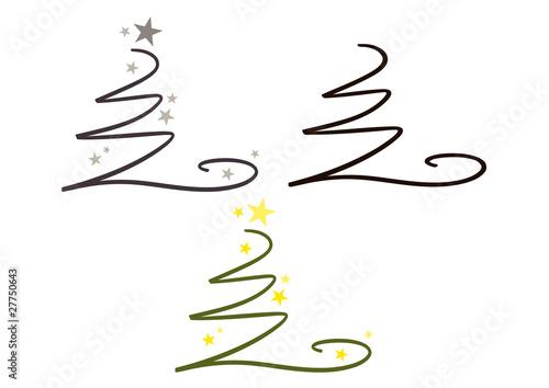 Symbol Weihnachtsbaum.Abstrakter Moderner Weihnachtsbaum Symbol Logo Kaufen Sie Diese