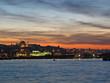 Sunset on the Golden Horn Bay