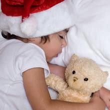 Bambino Notte Di Natale Dorme ...
