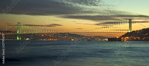 Obraz na plátně Bosphorus Bridge