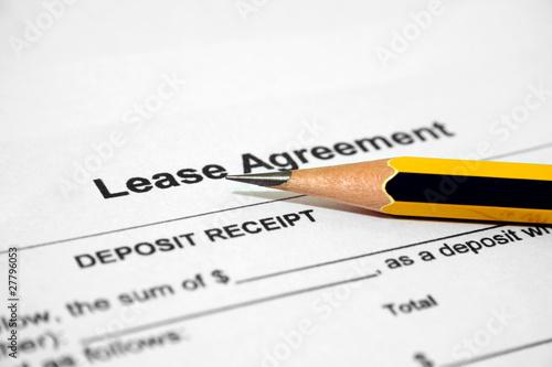 Fotografía  Lease agreement