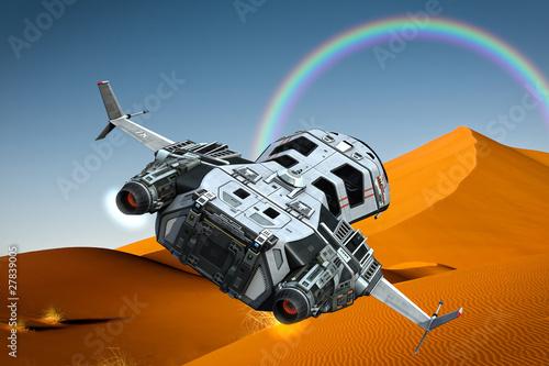 statek-kosmiczny-latajacy-na-pustyni-teczy