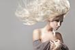 Leinwanddruck Bild - Beautiful blonde woman
