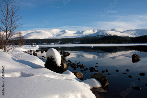 Winter Views at Aviemore Canvas Print