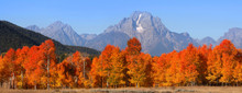 Grand Tetons National Mountain...
