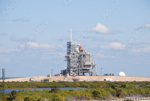 Keuken foto achterwand Nasa USA, Floride, Kennedy Space Center, cap Canaveral, fusée