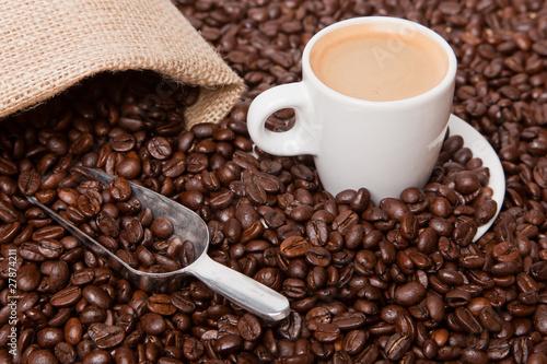 Deurstickers koffiebar Espresso