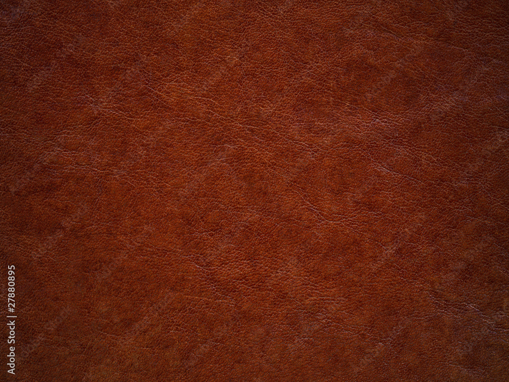 Fototapeta Brown leather