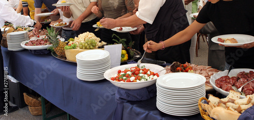 Fotografia catering service