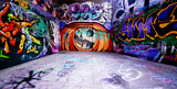 Fototapeta Teenage - graffiti