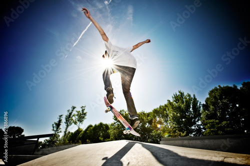 Skateboarder Canvas-taulu