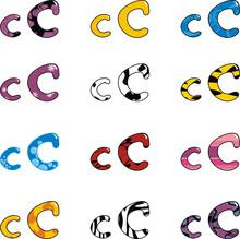 Letter C Cartoon