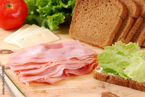 Fotografie, Obraz  Deli Meats