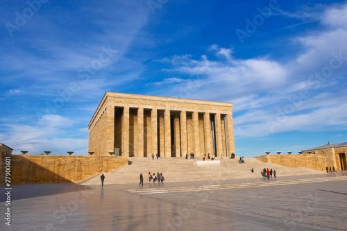Ankara - Turkey, Mausoleum of Ataturk Canvas Print