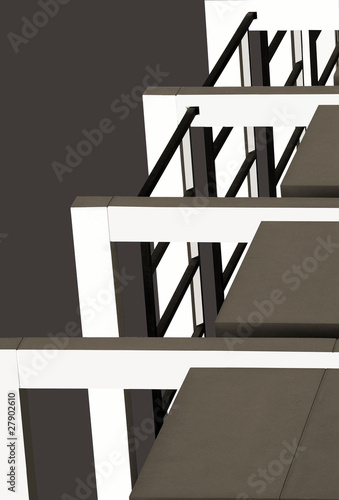 Fotografie, Obraz  modern architecture