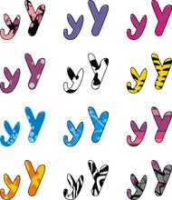 Letter Y Cartoon