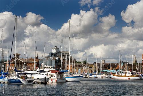 Stampa su Tela Ipswich Waterfront 2