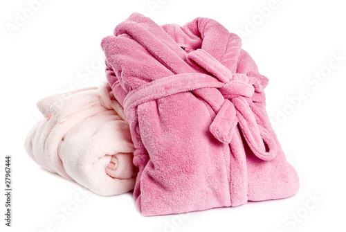 Fotografie, Obraz  Two Pink Bathrobes
